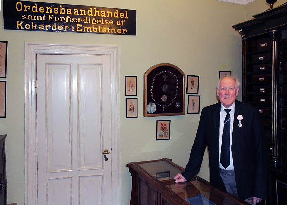 Peter Ohm-Hieronymussen knighted